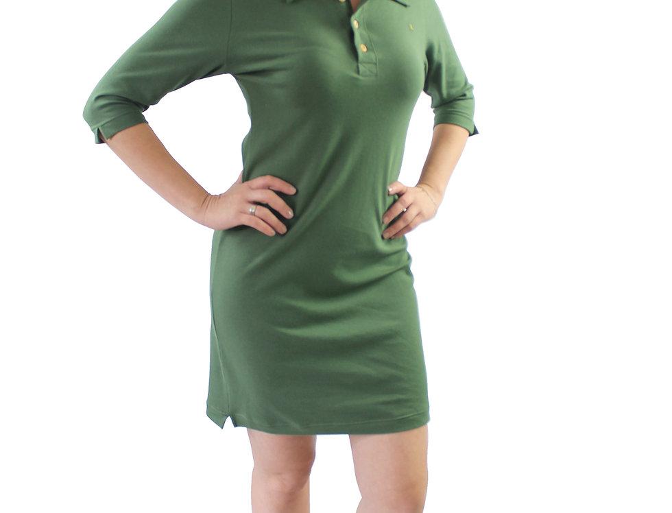 Vestido Rodado Verde