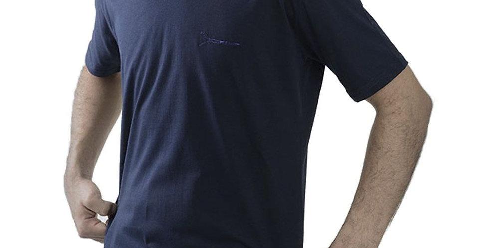 Camiseta Masculina Decote V Zíper