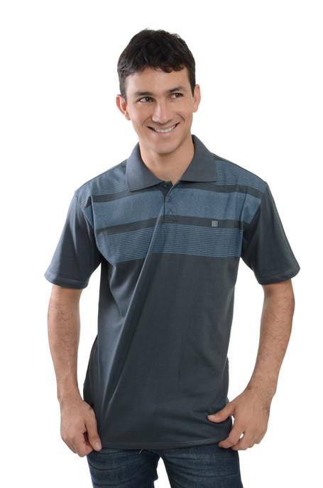 Camiseta Polo  Meia MAlha - SKU -30061A