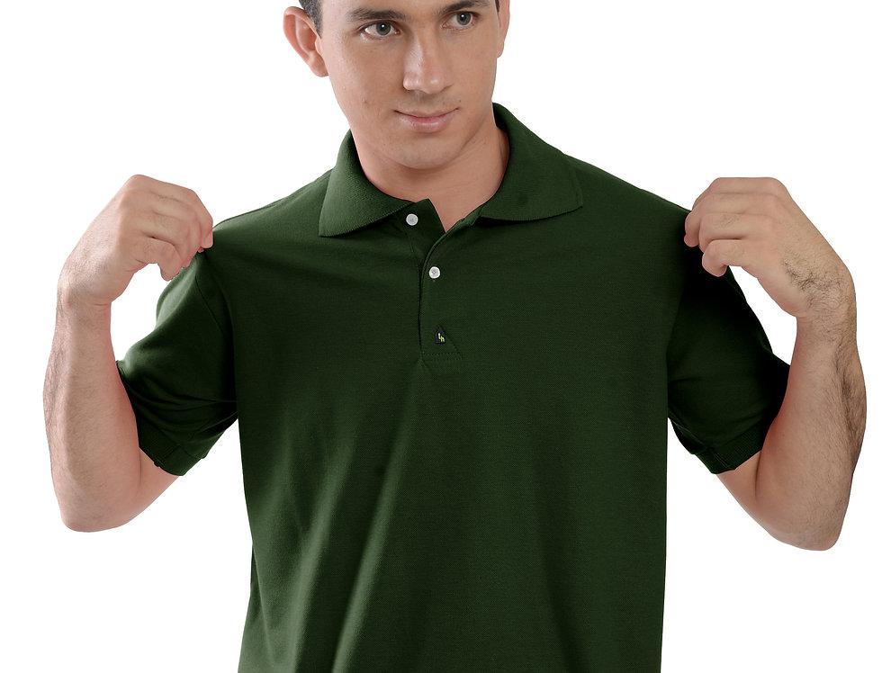 Camiseta Polo Manga Curta