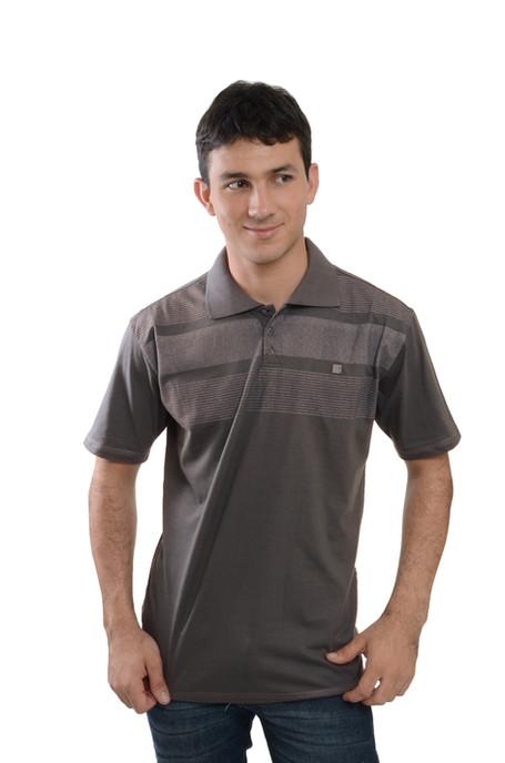 Camiseta Polo  Meia MAlha - SKU -30061B