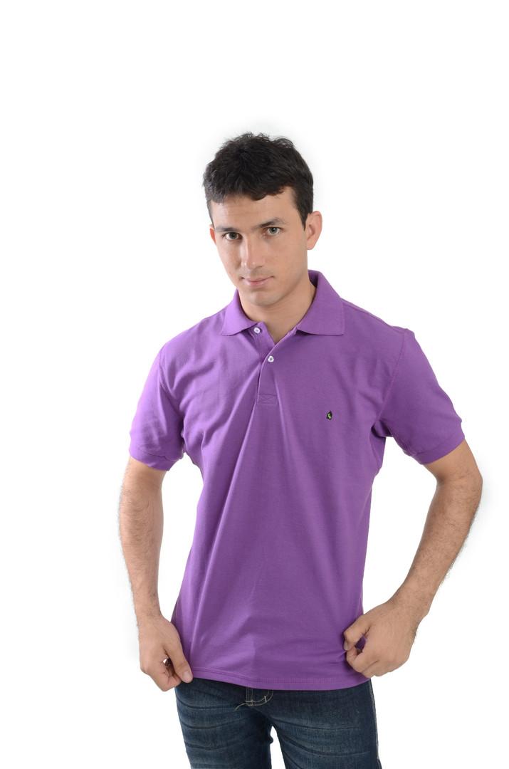 Camiseta Polo com Recorte - SKU - 30061B