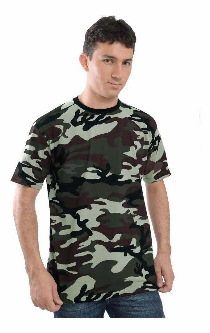 Camiseta Camuflada - 20011E