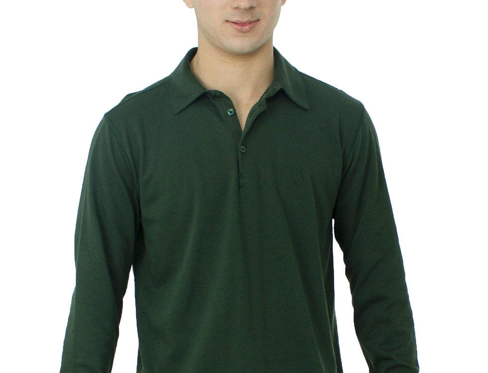 Camiseta Polo M/L MAlhaõ