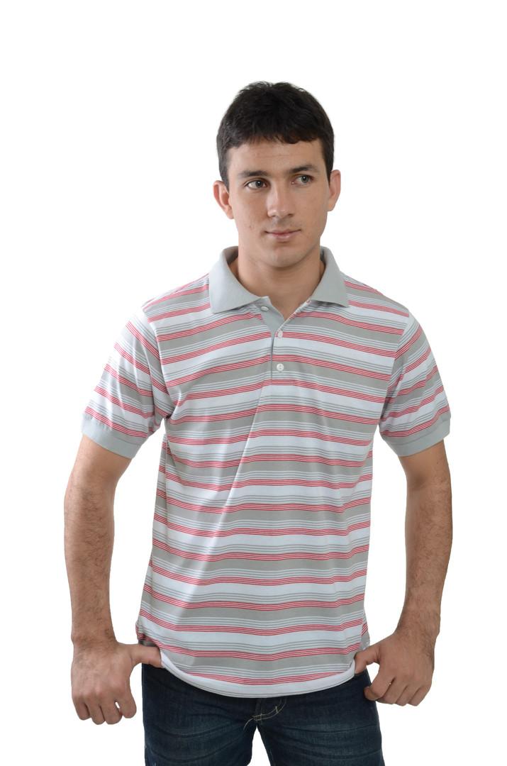 Camiseta Polo de Meia Malha -SKU -30121.