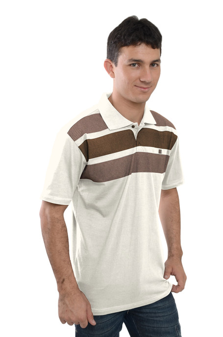 Camiseta Polo  Meia MAlha - SKU -30061C.