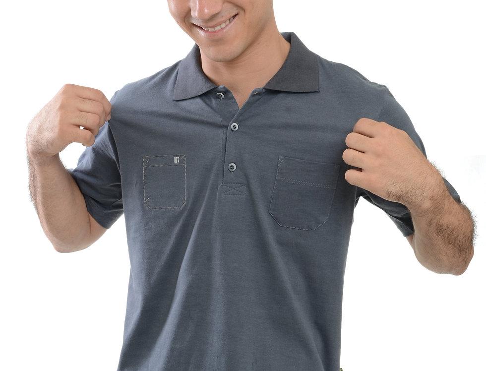 Camiseta Polo Malha