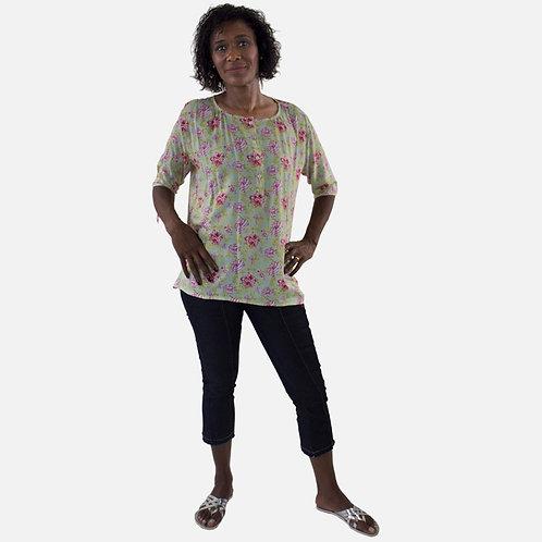 Camisa Bata Feminina
