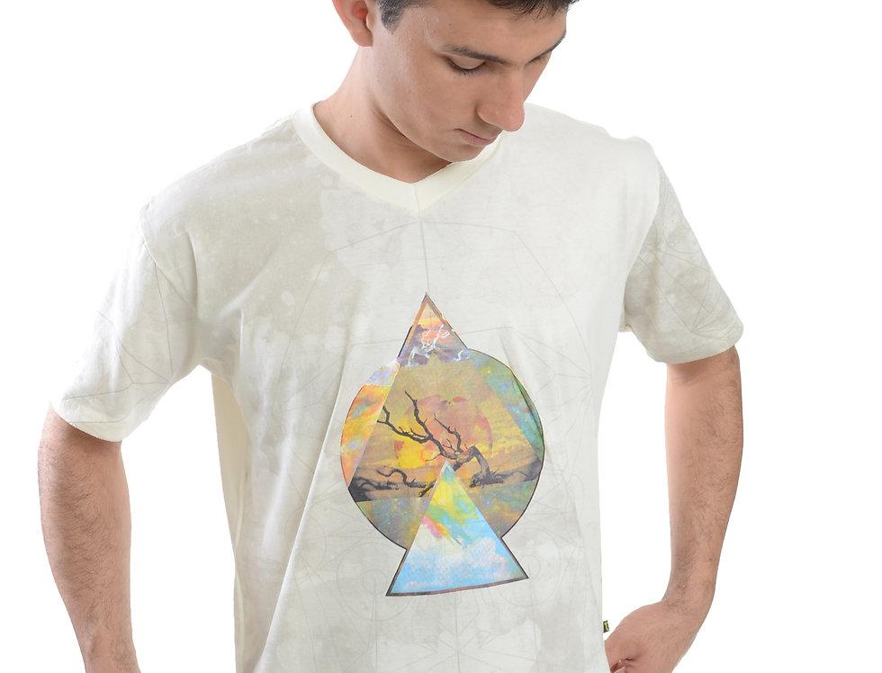 Camiseta masculina Pirâmide
