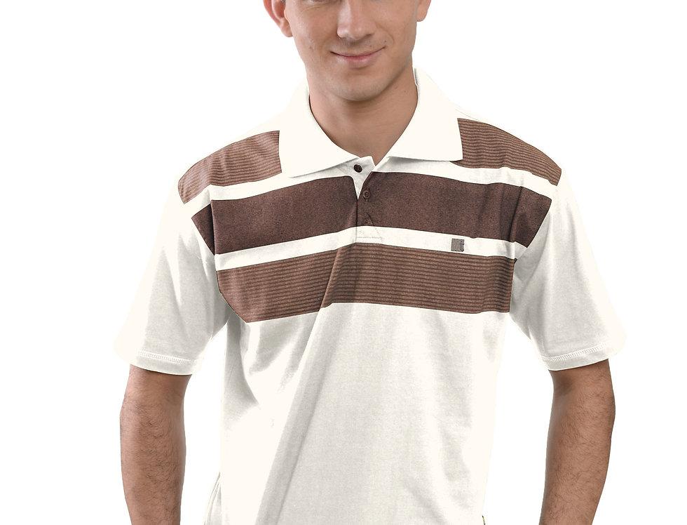 Camiseta Polo MM Penteada