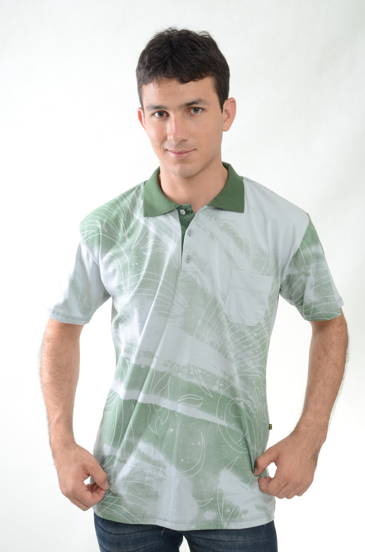 Camiseta de Meia Malha - SKU - 30001E.JP