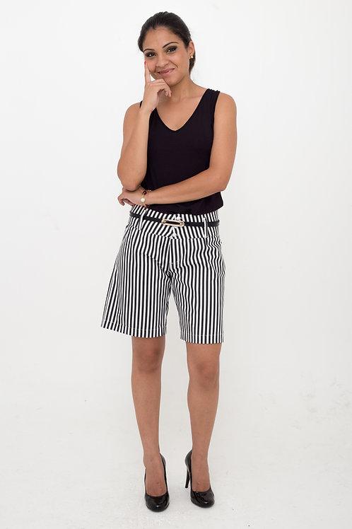 Shorts Social Listrado
