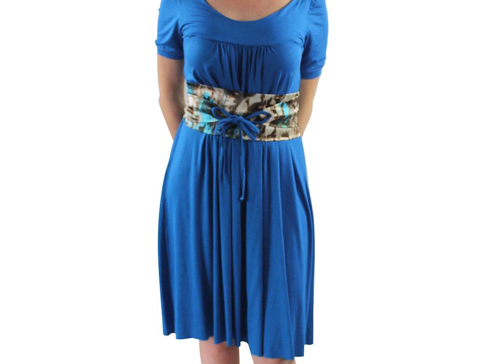 Vestido Solto Azul
