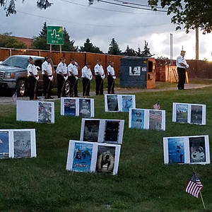 POW/MIA Ceremony Oakland Hills Cemetery Novi