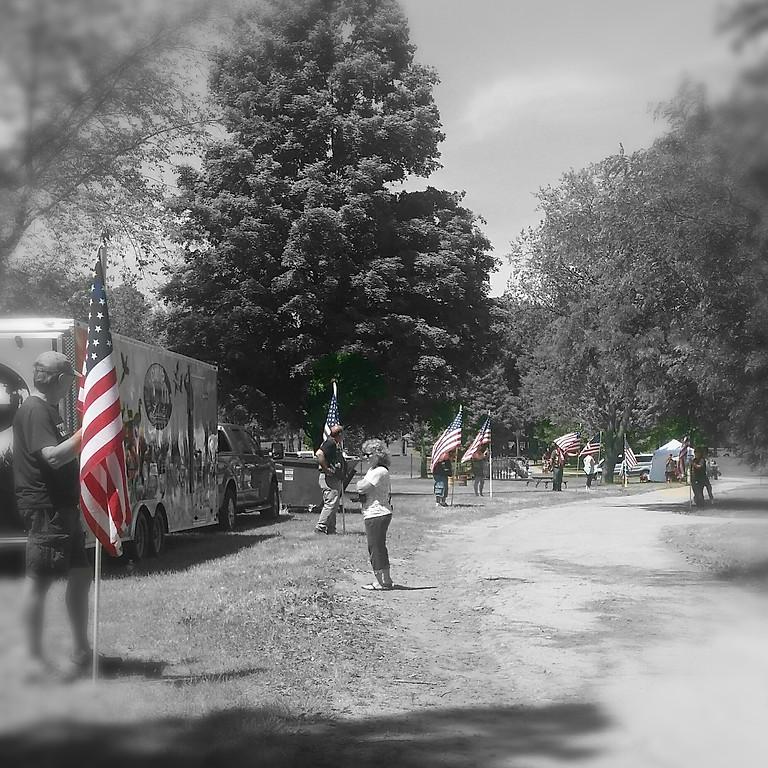 Flag Line - Burial Ceremony