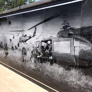MuraMural Unveiling, Wurtsmith Airport