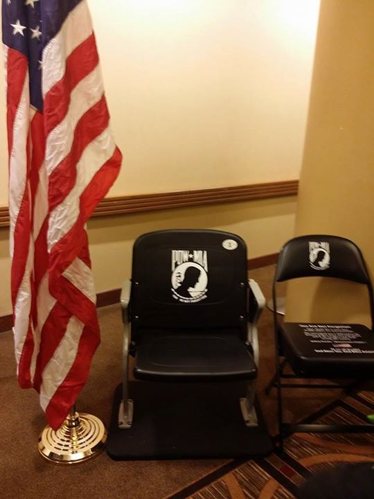 POWMIA Chair of Honor