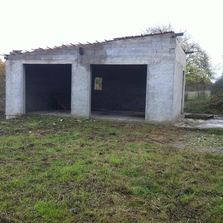 Lieu Dit Cruzel - Garage avant travaux