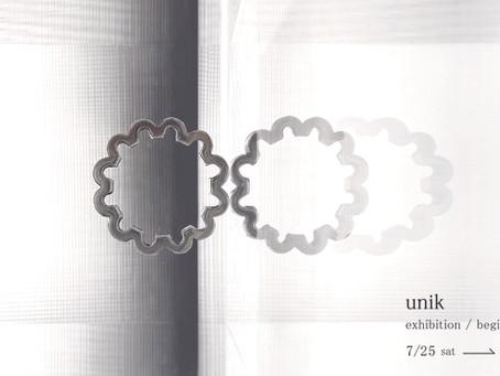 unik exhibition -begin again-