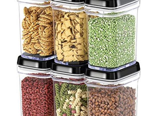 6-Piece Food Storage Containers with Lids