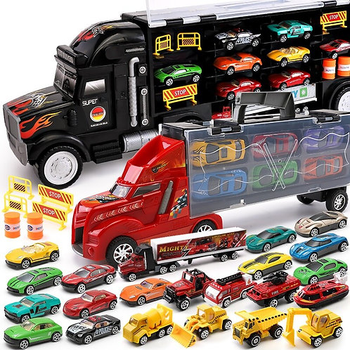 Hotwheels Truck Toy Storage Box Car Container
