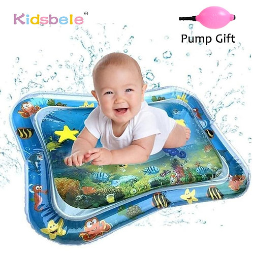 Baby Water Play Mat Tummy Time Toys for Newborns
