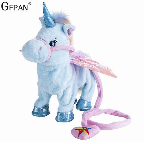 Funny Toys  Electric Walking Unicorn Plush Toy Stuffed Animal