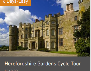 10 to 14 Day Cycling Holidays in the UK
