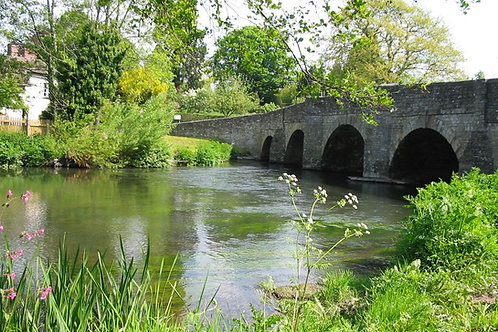 Leintwardine Bridge, cycling holidays, April