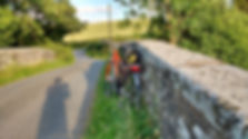 BBC Escape to the country, filming cycling iat Burrington Bridge, Shropshire with Wheely Wonderful Cycling