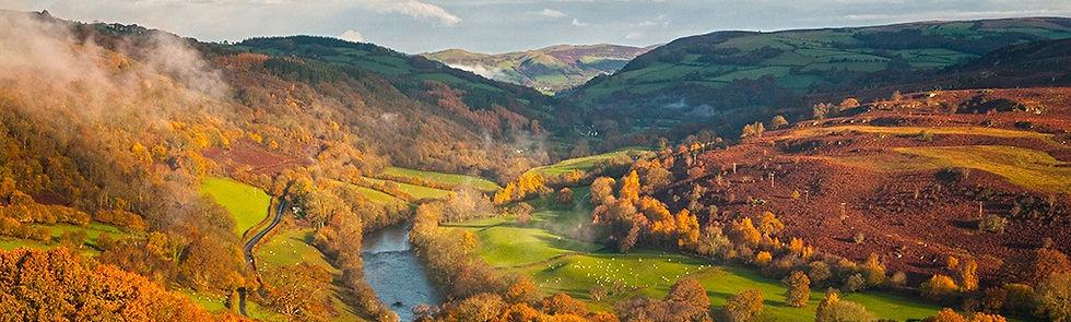 Wye Valley, Lon Las Cymru
