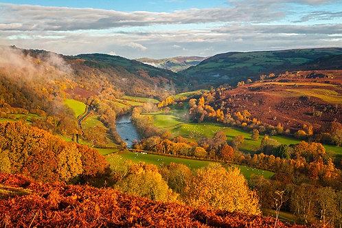 Wye Valley on the Lon Las Cymru