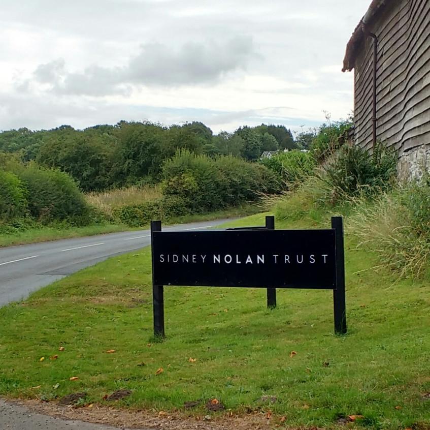 Sidney Nolan gallery near Presteigne