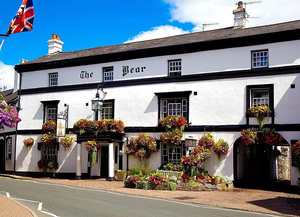 The Bear Hotel, Brecon Beacons Cycling holiday