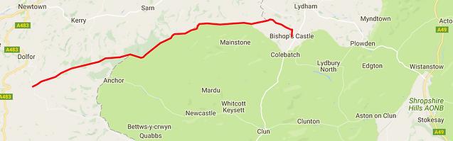 Kerry Ridgeway Map