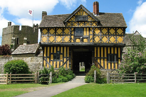 Stokesay Castle, cycling holidays