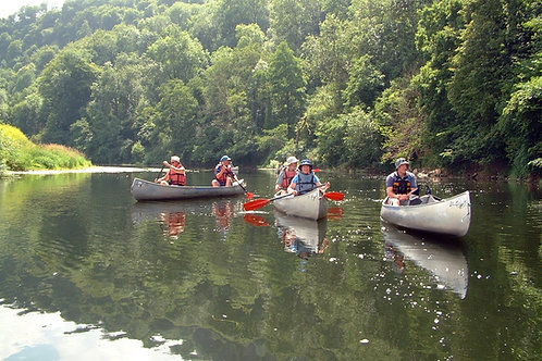 Wye Valley canoeing, cycling holidays, Herefordshire