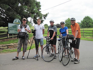BBC Escape to the country, filming cycling in the Severn Valley with Wheely Wonderful Cycling