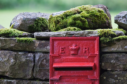 Post box, cycling holidays in England and Wales