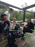 BBC Escape to the Country filming Green Cafe Ludlow
