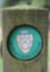 Mortimer trail, sign