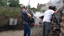 BBC Escape to the Country, filming  at Acton Scott