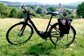 Electric bike in Ludlow