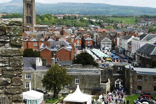 Ludlow Food Festival, cycling holidays, September