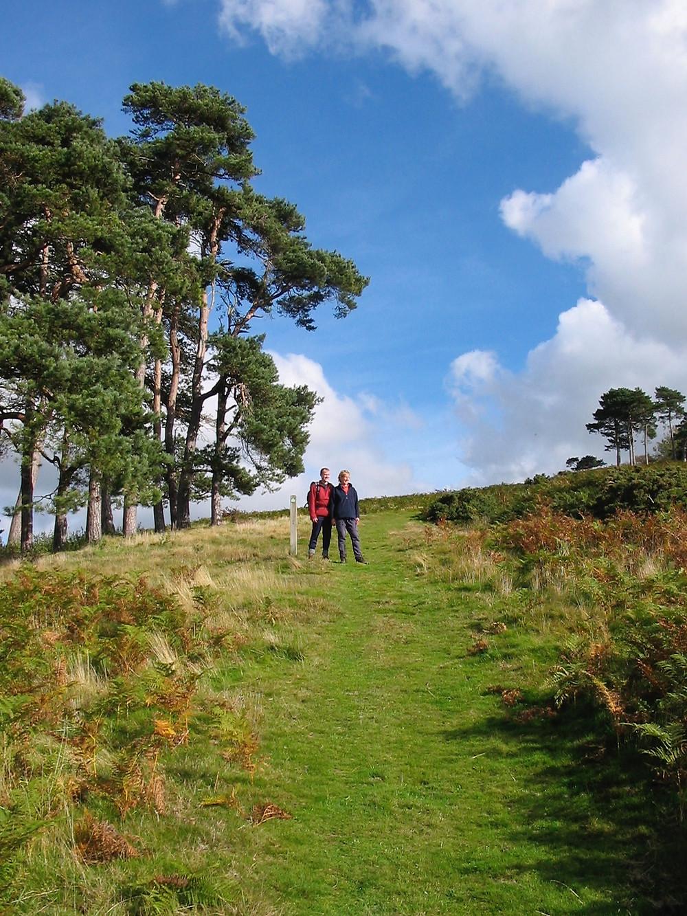 Mortimer Trail walking holiday Croft Ambrey