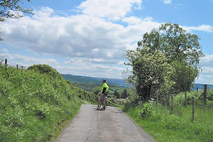 Challenging bike tours in Wales