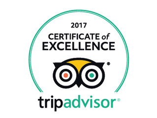 Our Cycling holidays achieve Trip Advisor Certificate of Excellence 2017