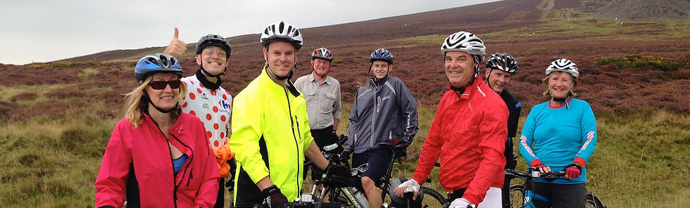 Group cycling holidays