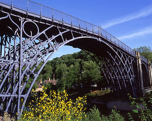 Ironbridge Gorge, cycling holidays in Ludlow and Ironbridge