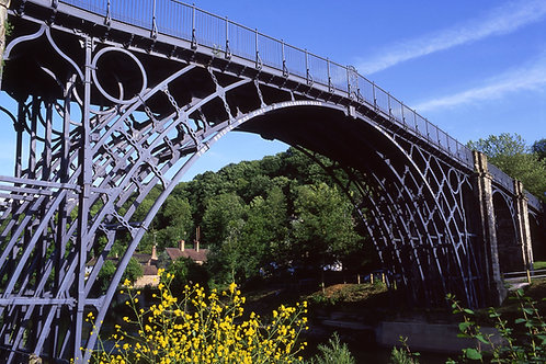 Ironbridge, cycling holidays, Shropshire